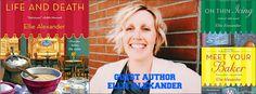 Culinary Mysteries Author Ellie Alexander