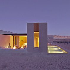 amangiri resort in remote southern utah. beautifully simple. on my bucket list.