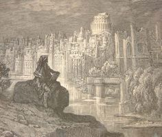 Doré's depiction of Macaulay's New Zealander amid the ruins of London