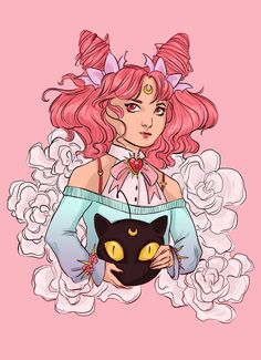 ART & MAYHEM — New pieces for International Sailor Moon Day last...