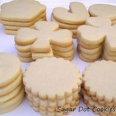 Sugar Dot Cookies: Beginners - Part 1 - Sugar Cookie Recipes, for royal icing
