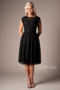 Modest Bridesmaid Dresses : Vanessa