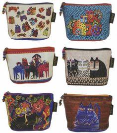 Feline Minis Cosmetic Bags By Burch, Laurel