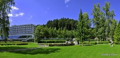 Spa Lúčky is the oldest in Slovakia (since 1761)