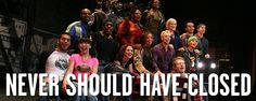 Think Rent should still be on Broadway? Rank the #top10 shows you think shouldn't have closed: