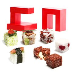 Rice Cube sushi maker