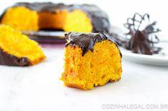 Receita: Bolo de cenoura cremoso com cobertura de chocolate