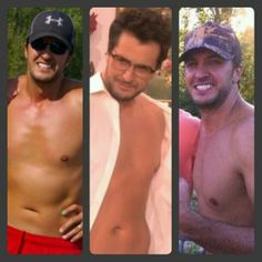 He is nothing special and unless he has a six pack he can keep his shirt on! Country Boys Love, Country Men, Country Singers, Country Music, Luke Bryan Shirtless, Caroline Bryan, Shake It For Me, Celebs, Celebrities
