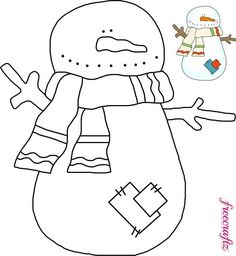 Winter is snow much fun with DIY Christmas crafts and free printables. Snowman crafts, Santa templates, Christmas ornaments, Reindeer templates, printable sayings. Christmas Embroidery Patterns, Wool Applique Patterns, Applique Templates, Hand Applique, Quilt Patterns, Snowman Crafts, Christmas Crafts, Christmas Templates, Christmas Images