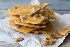 Bacon Brittle is the ultimate homemade candy, and can be made entirely in the microwave in minutes!