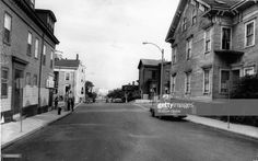 G and Broadway in South Boston, near the high school. Get premium, high resolution news photos at Getty Images South Boston, Secret Places, Working Class, Great Memories, Summer Nights, New England, The Neighbourhood, Broadway, High School