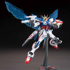 Gundam Build Fighters HIGH GRADE : Star Build Strike Gundam Plavsky Wing
