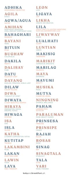 Unusual Words, Weird Words, Rare Words, Unique Words, Unique Names With Meaning, Pretty Names, Pretty Words, Beautiful Words, Filipino Baby