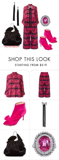 """""""MYOWNFLOW"""" by myownflow ❤ liked on Polyvore featuring Delpozo, Charlotte Olympia, Lanvin, Simone Rocha and Miss Selfridge"""