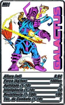 Galactus com arte alternativa (Alternative Art)