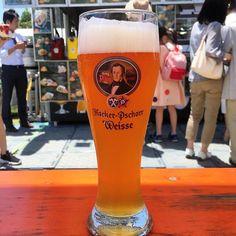 県庁前でビールにはしゃぐ背徳感 #beer #germanbeer #nara #okf