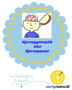 Hjernegymnastik eller Hjernepauser Teacher Binder, Cooperative Learning, Brain Breaks, Team Building, Classroom Management, Adhd, Special Education, Projects To Try, Teaching