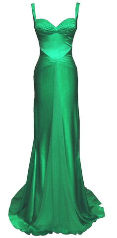 BAM!  This style for my dress, but ivory instead of green.
