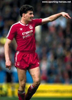 John Aldridge - Liverpool FC - Biography of Liverpool career and his complete League stats.
