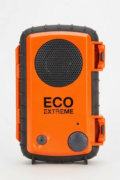 Got a guy who loves the outdoors? This Eco-Extreme All-Weather Portable Speaker ($50) has a heavy-duty waterproof casing for his smartphone, a detachable carabiner clip and a superdurable design. This speaker is ideal for beach, mountains, or ocean.