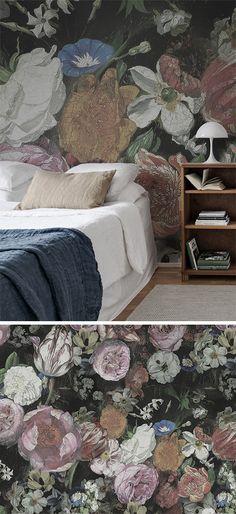 Horse Herd - wandgestaltung wohnzimmer braun grau