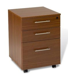 The Ergo Office Mobile Filing Cabinet - Walnut by The Ergo Office. $399.86. The Ergo Office Mobile Filing Cabinet - Walnut is sure to become a power player down at the office. One hanging file drawer holds letter- or legal-size files, and two catch-all supply drawers provide enviable space and room to grow. Laminate construction is sealed in a time-tested, flexible walnut finish that can support traditional and modern motifs. A central locking system quells modern privacy conc...