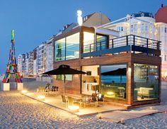 Tender 2 Pop-Up Hotel by Delta Light®