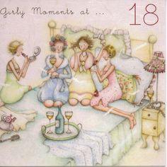 Momenti Girly a 18 Berni scheda Designs Parker