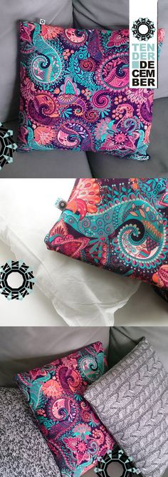 Colourful cushion printed with a swirls pattern, living room pillow, home decorations, ooak pillow, unique artwork, ooak original cushion Living Room Pillows, Colourful Cushions, Future Trends, Swirl Pattern, Everyday Objects, Swirls, Floor Pillows, Jewelry Crafts, Babyshower