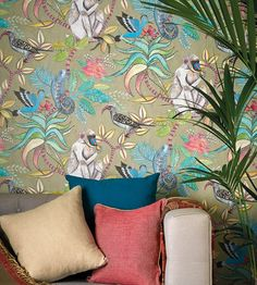 Cole and Son Savuti 109-1007 tapéta - Paisley Home Botanical Wallpaper c5aa9bc7c9