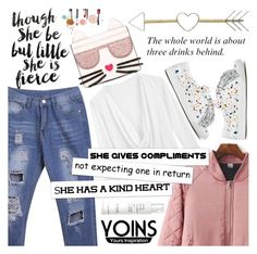 """""""Yoins 9/10 ♥"""" by av-anul ❤ liked on Polyvore featuring Home Decorators Collection, This Works, Loeffler Randall and Karl Lagerfeld"""