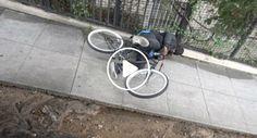 Ladrões Aprendem Lição Ao Serem Eletrocutados Depois De Roubarem bicicleta