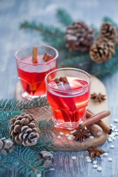 Christmas drink: mulled wine (by The Little Squirrel)