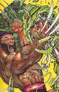 Wolverine 1992 by Jim Lee