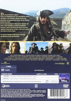 Pirates of the Caribbean 5 - Salazars Rache (DVD)