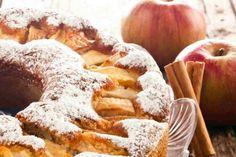 Como fazer bolo de canela com maçã