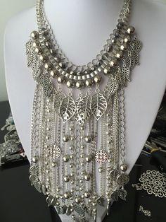 Masterpiece maxi collar plateado