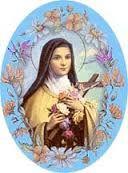 Resultado de imagen para lluvia de rosas santa teresita del niño jesus
