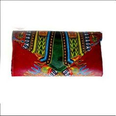 Women Dashiki African Print Clutch