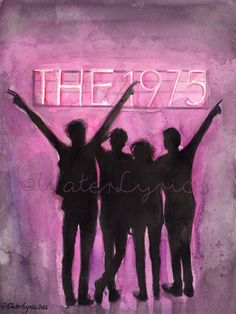 The 1975 watercolor by WaterLyrics