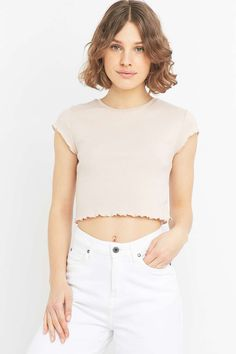 Urban Outfitters Lettuce Edge T-shirt