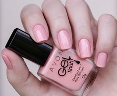 Esmaltes Avon Gel Finish | Swatches