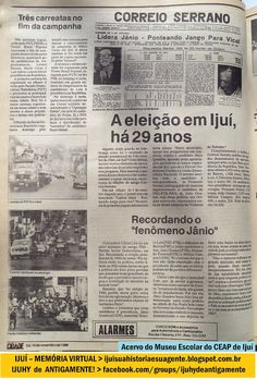 IJUÍ - RS - Memória Virtual: Eleições presidenciais de 1989: Recordando as elei...