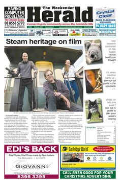 Latest edition now online. See it at: http://adelaidehills.realviewtechnologies.com/ Please share.