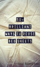 50+ Brilliant Ways to Reuse Bed Sheets