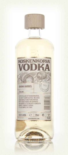 Vodka Koskenkorva - Sauna Barrel
