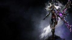 Irelia League of Legends assassins champions fantasy art 1366x768 ...