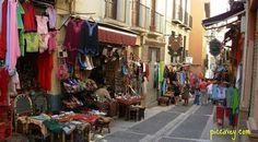 Shopping in Granada Spain