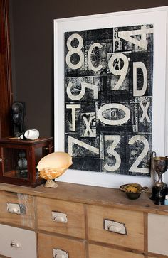 Living room by midcenturyjo, via Flickr