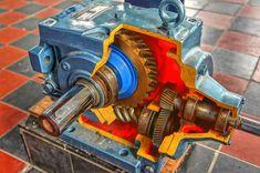Industrie, Handwerk, Zahnräder, Mechanische, Metall